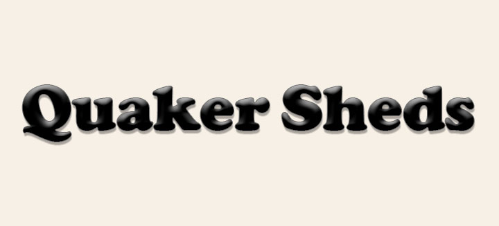 Quaker Sheds Website